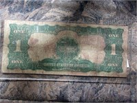 1899$1 Black Eagle Silver Certificate