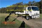 2008 Isuzu FVZ 1400 Long Crane Truck