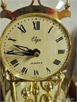 Elgin Quartz Anniversary Clock & Led Lantern