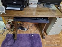 """Desk ( Contents Not Incl ) Approx. 45"""" X 22"""" X 31"""""""