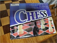 Checker & Chess Table W/ Games