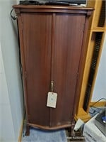 """Clothing Cabinet Approx. 20"""" X 16"""" X 50"""""""