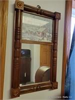 Radio & Cassette Player & Mirror