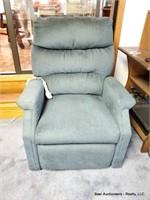Blue Lift Chair Recliner