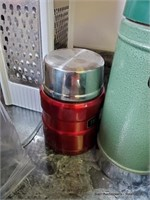 Grater, Coffee Pot, Roaster & 2 Thermoses