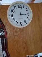 Coca-cola Thermometer & Clock