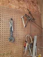 Cresent Wrenches, Screwdrivers & Misc.