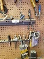Screwdrivers, Handsaws, Scanning Radio & Misc
