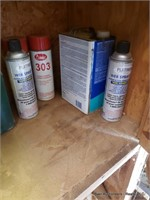 Contents Of Bottom 2 Shelves On Right Side