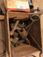 Misc Machine Part, Wooden Tools & Misc.