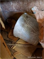 Galvanized Bucket, Rope, Stains & Misc