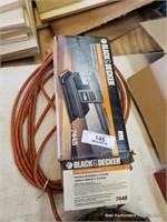 Black & Decker Sander, Light & Bits