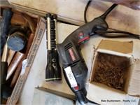Craftsman Drill, Light & Drill Bits