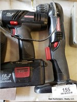 2 Drills & Battery Charger