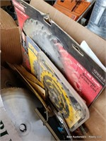 Box Of Misc Saw Blades
