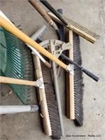 Brooms, Rake & Misc Hand Tools