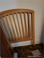 Crib Bed Frame, Head & Foot Board