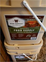 4 Buckets Of Emergency Food