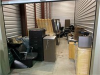 SALON EQUIPMENT LIQUIDATION-STORAGE UNITS-VIRTUAL AUCTION