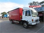 2005 Mitsubishi Fuso FIGHTER FN600 Tautliner / Curtainsider