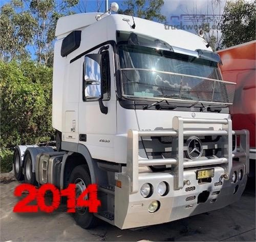 2014 Mercedes Benz Actros 2655 Southern Star Truck Centre Pty Ltd  - Trucks for Sale