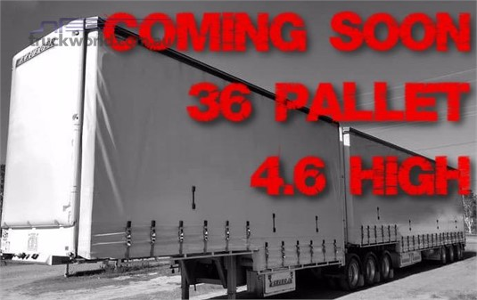 2006 Krueger Dropdeck B Double Set Southern Star Truck Centre Pty Ltd - Trailers for Sale
