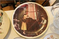 Lot of 10 Norman Rockwell Collector's Plates