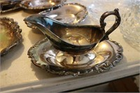 Lot of Asst. Silver Plated Dishware & Misc.