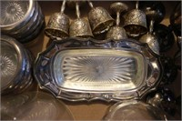 Lot of Assorted Silver Plate Collectibles