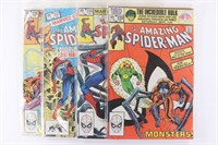 Marvel The Amazing Spider Man Books 230 234 1982 Krucial Products Llc