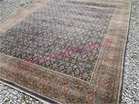 larger old karastan wool area rug (8.5ft x 10.5ft)