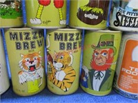 22 various sports edition beer can set