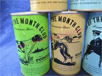 "7 ""beer cans of the month club"" dog breeds set #1"