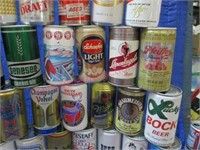 50 various beer cans collection #1
