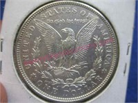 1921-D Morgan silver dollar (90% silver) nice