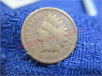 1902 Indian head penny (1-cent)