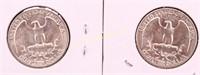 1958/59-D UNC SILVER WASHINGTON QUARTERS
