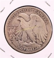 1927-S WALKING LIBERTY SILVER HALF DOLLAR