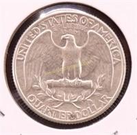 1932-P AU SILVER WASHINGTON QUARTER