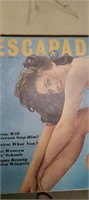 LOT OF 4 RISQUE MAGAZINES & AMER REVOLUTION BOOKS