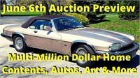 Multi-Million Dollar Home Contents, Autos, Art, More Auction