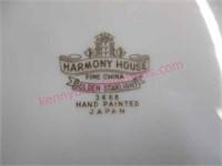 """90pcs """"harmony house golden starlight"""" dish set"""