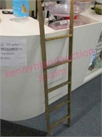 smaller 4ft tall decorative ladder