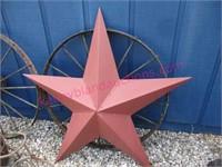 Modern 46in metal star