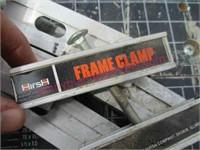 Skil folding work table & Hirsh frame clamp