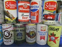 50 various beer cans collection #17 (4 sizes)