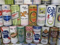 50 various beer cans collection #18 (mostly 16oz)
