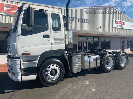 2012 Isuzu Giga CXY 455 Premium - Trucks for Sale