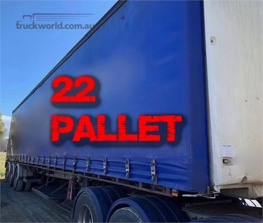 2008 Vawdrey 45FT Curtainsider Semi Trailer - Trailers for Sale
