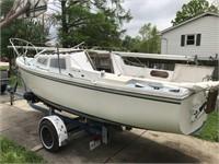 1978 Catalina 22 Sail Boat